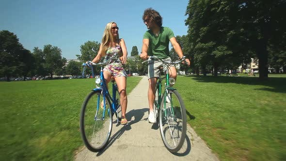 Thumbnail for Couple Cycling 2