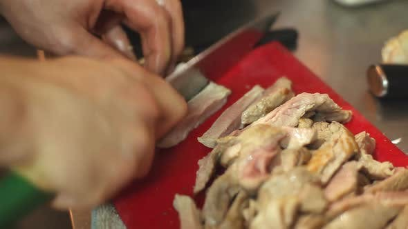 Thumbnail for Cutting Chicken Meat 2