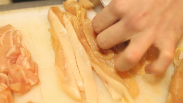 Thumbnail for Cutting Chicken Meat 7