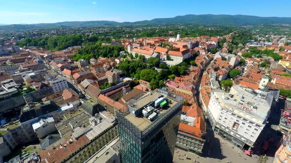 Thumbnail for Aerial View Of Central Zagreb. 3