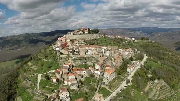 Thumbnail for Aerial View Of The Old Town Of Motovun, Croatia 1
