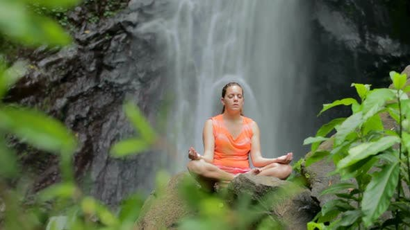 Thumbnail for Woman Sitting In Meditation 1