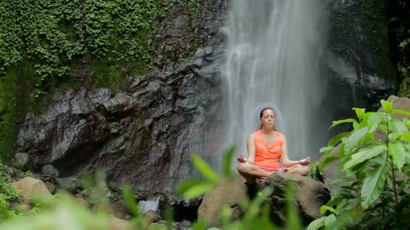 Thumbnail for Woman Sitting In Meditation 2