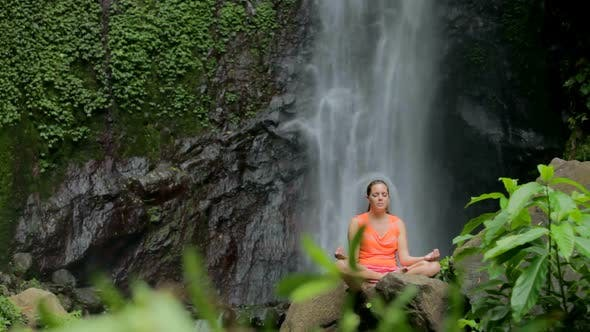 Thumbnail for Woman Sitting In Meditation 4
