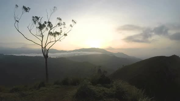 Thumbnail for Timelapse Of Magical Sun Rising At Ella Peak, Sri Lanka. 1