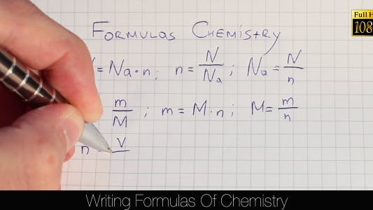 Thumbnail for Writing Formulas Of Chemistry 2