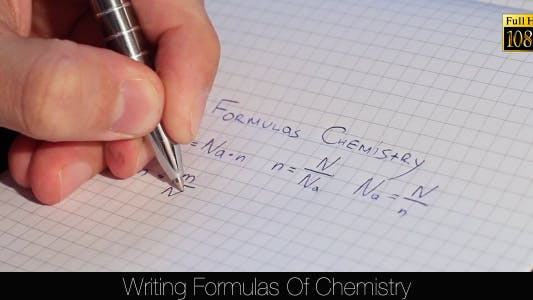 Thumbnail for Writing Formulas Of Chemistry 3