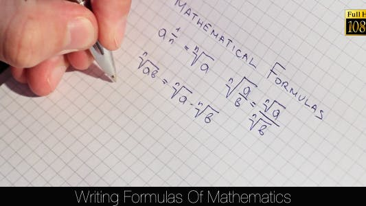 Thumbnail for Writing Formulas Of Mathematics 5