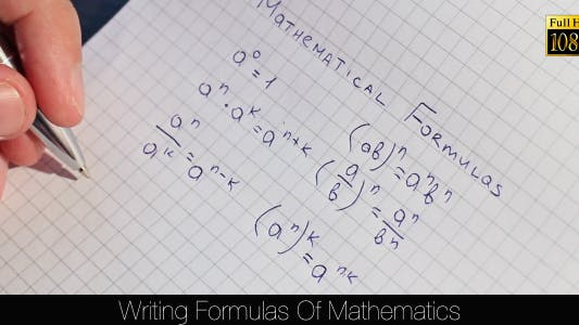 Thumbnail for Writing Formulas Of Mathematics 6
