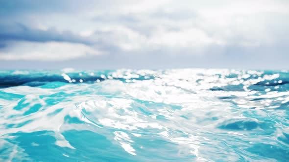 Thumbnail for Ozean mit einem großen Wellen