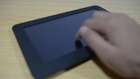 Thumbnail for Digital Tablet in Use