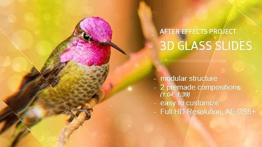 Thumbnail for Glass Slides 3D