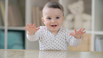 Baby in Good Mood