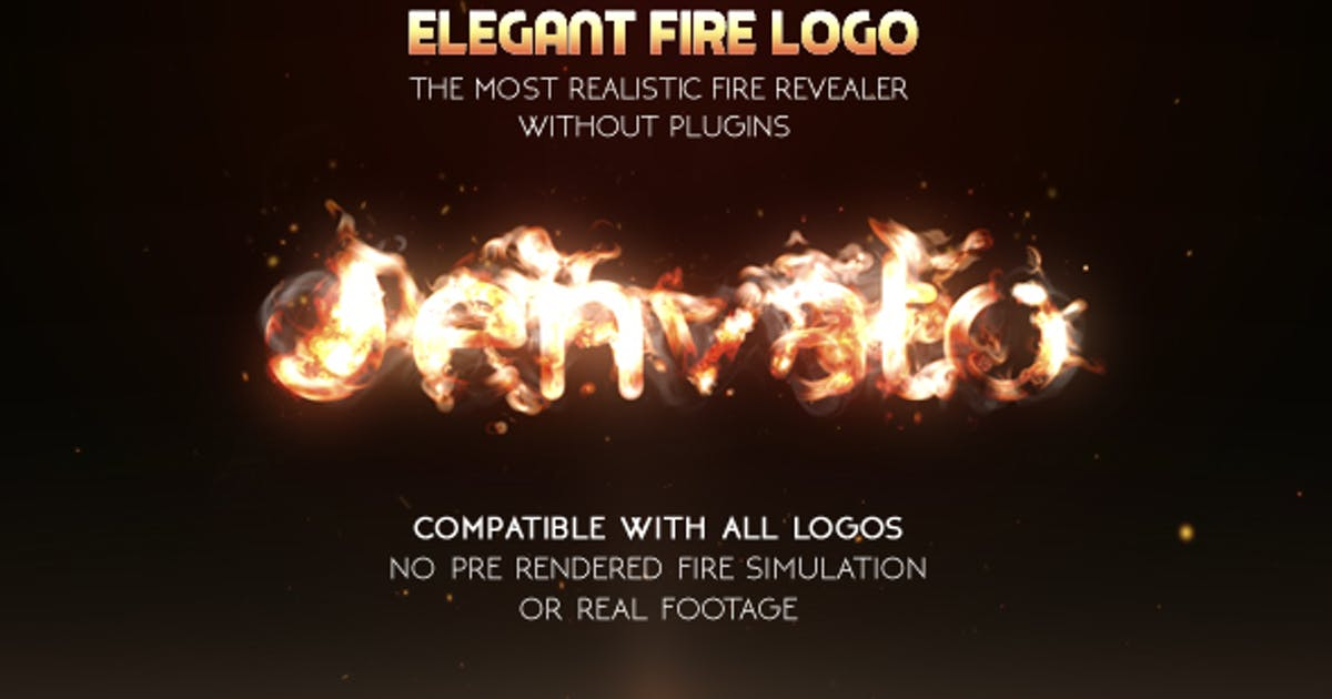 Download Elegant Fire Logo (No Plugin) by marcobelli