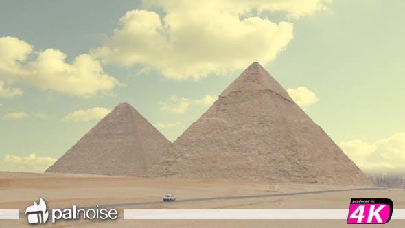 Pyramids Giza Egypt Seven Wonders