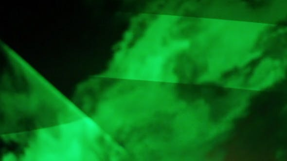 Cover Image for Green Laser In Fog