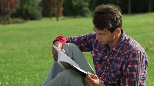Thumbnail for Portrait Of a Man Reading