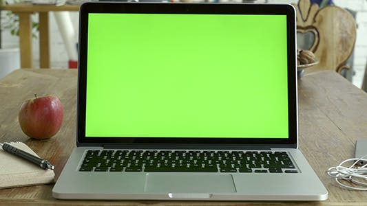 Thumbnail for Green Screen Laptop