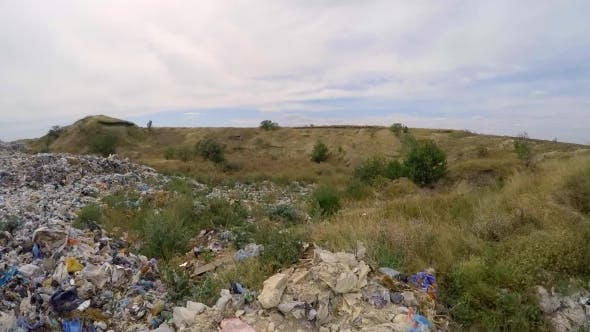 Thumbnail for Large Heap Of Wastes At Landfill In Ukraine