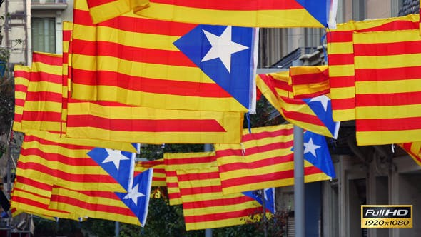 Thumbnail for Freedom for Catalonia Independence Flagstaff