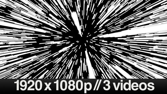 Thumbnail for Light Speed Starwars - Series of 3 Videos
