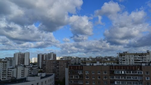 City Landscape In Moscow Russia