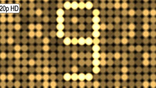 Thumbnail for Defocused Lights Countdown