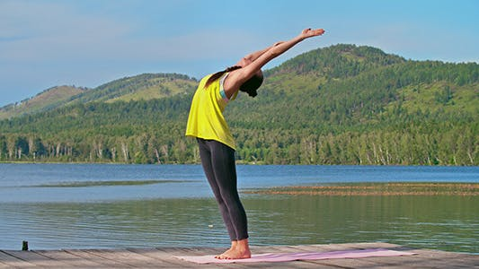 Thumbnail for Yoga Practice in Nature