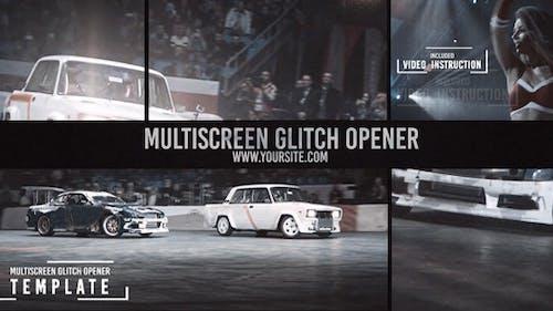 Multiscreen Glitch Opener/Reel