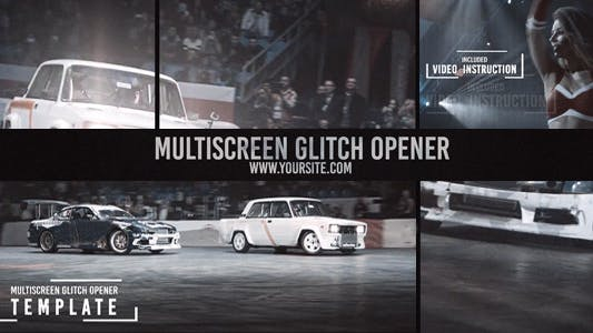 Thumbnail for Multiscreen Glitch Opener/Reel