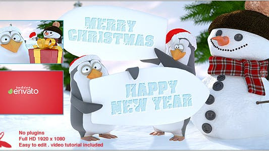 Thumbnail for Christmas Penguins
