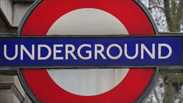 Thumbnail for Big Underground Sign in London