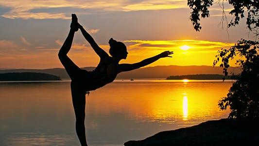 Thumbnail for Sunset Yoga Pose