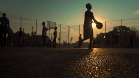 Thumbnail for The Street Basketball Playground