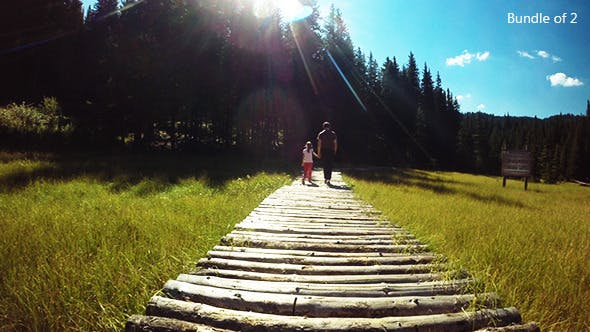 Thumbnail for Children in a Fairytale Landscape
