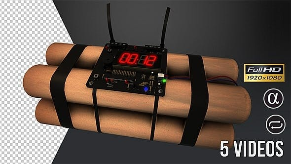Thumbnail for Bomb Timer Countdown - 5 Pack
