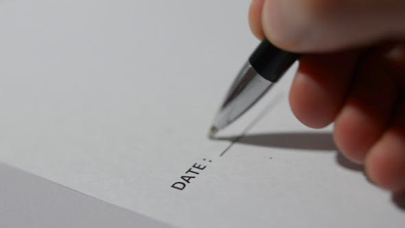 Cover Image for Date Writing