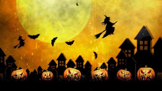 Halloween Vintage Hintergründe