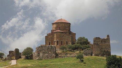 Jvari Monastery. Mtskheta, Eastern Georgia