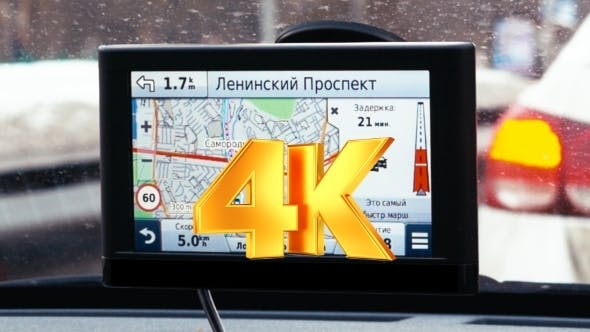 Thumbnail for Driving In Moscow With GPS Navigation