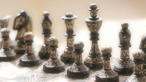 Thumbnail for Vintage Chess Pieces