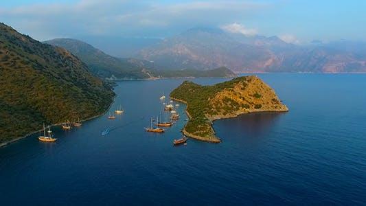 Thumbnail for Aerial Nicholas Island