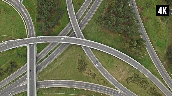 Thumbnail for Roundabout Highway Interchange