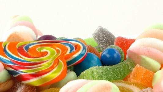 Cover Image for Sweet Candy Jelly Bonbon Lollipop Mixed  Snack 9