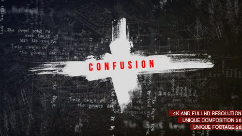 Confusion Titles/ Movie and Film Text Intro/ Coronavirus COVID-19/ Trailer Crime Story/ Police & Spy