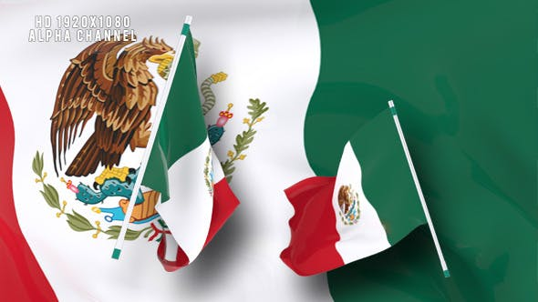 Flag Transition - Mexico