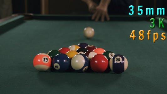 Thumbnail for Pool Table Break Shot