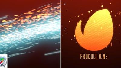Cinematic Light Streaks Logo - Apple Motion