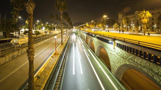 Thumbnail for Night Traffic At City