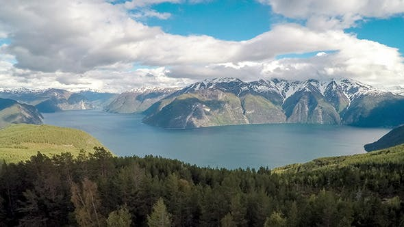 Thumbnail for Flying Over The Sognefjorden